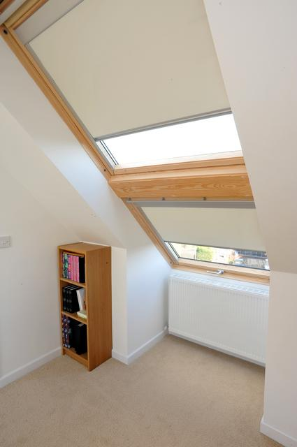 velux blackout blinds are a great addition to all our loft conversions