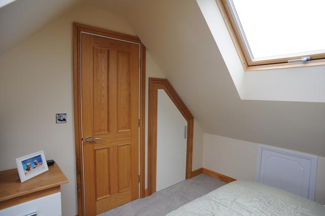 fitted furniture in loft conversion
