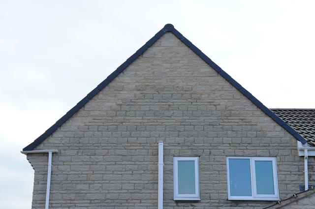 gable after raising the roof to form loft conversion in south yorkshire by apexloft.com