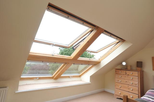 top hung windows in loft conversions