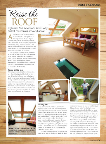 Meet the maker apexloft.com featured in Period Ideas magazine